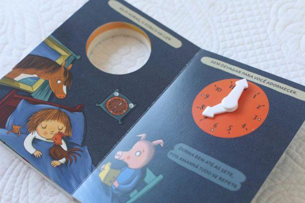 foto do Livro Que Horas São?