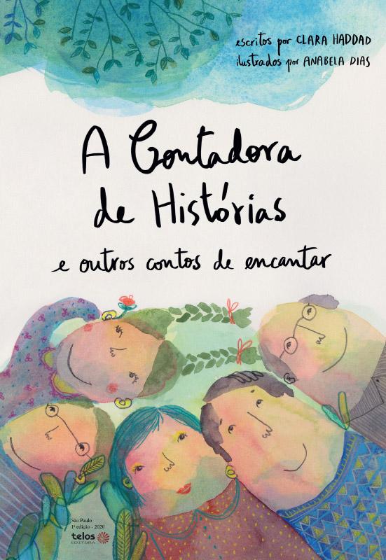 Capa - A Contadora de Histórias e outros contos de encantar