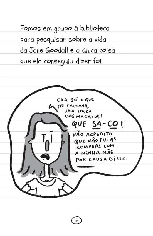 Diário de uma garota como você Férias! - página 6