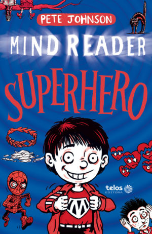 Capa Mind Reader - Superhero
