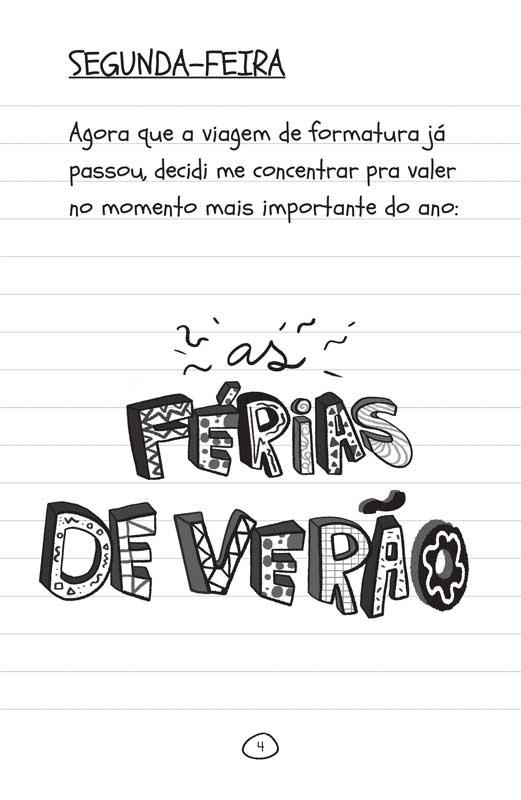 Diário de uma garota como você Férias! - página 4