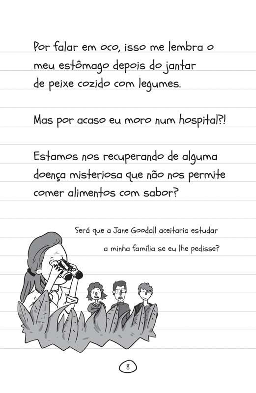 Diário de uma garota como você Férias! - página 8