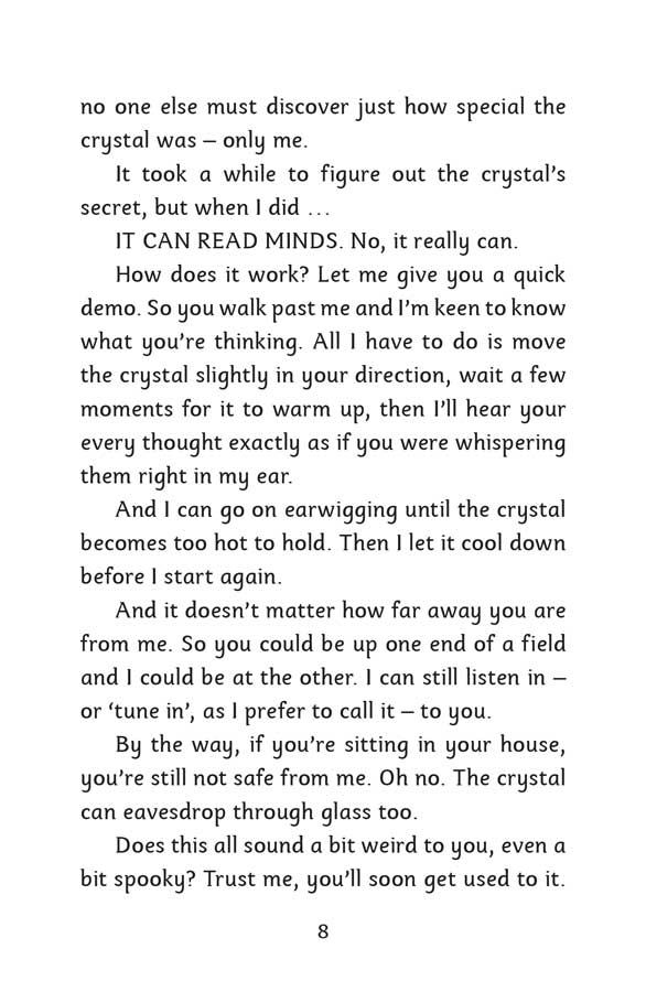 Mind Reader   Superhero - página 8