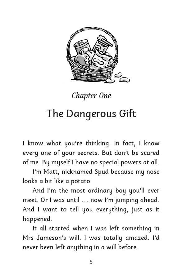 Mind Reader | The Crystal - página 5