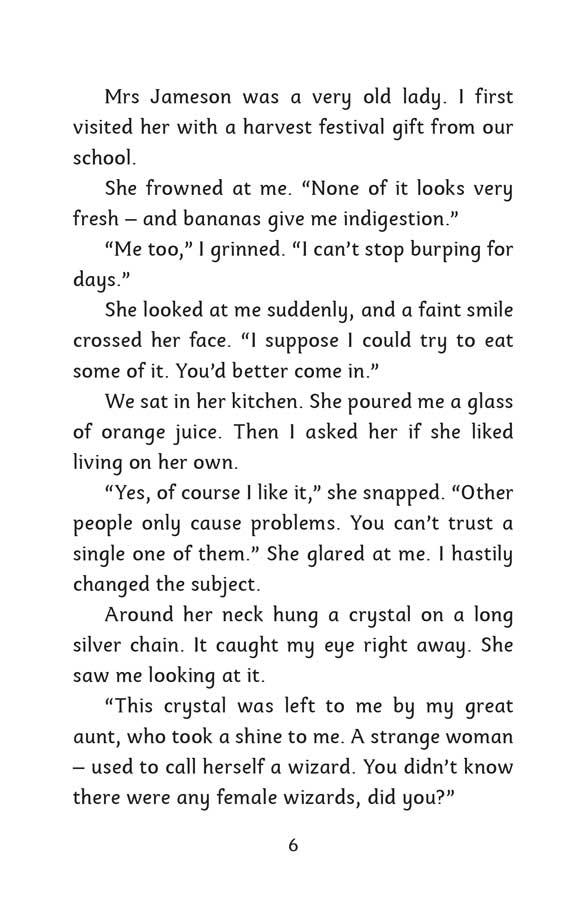 Mind Reader | The Crystal - página 6