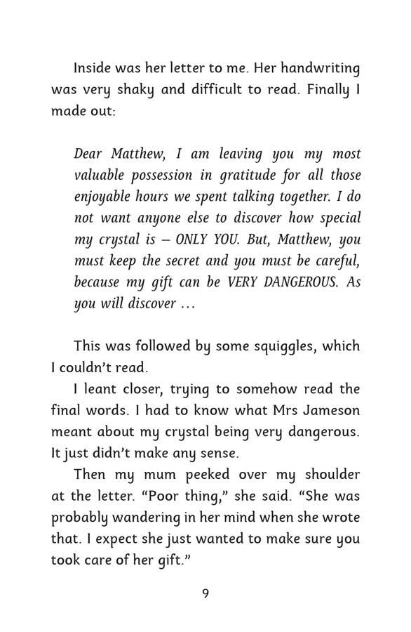 Mind Reader | The Crystal - página 9