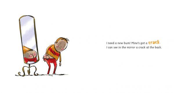 I Need a New Bum! - páginas 2 e 3