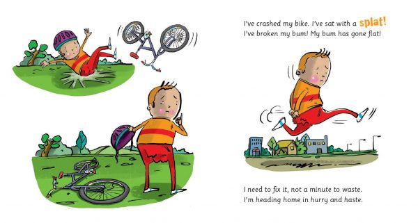 I've broken my bum! - páginas 2 e 3