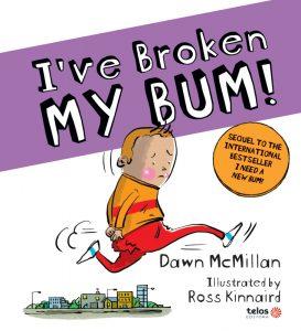 Capa I've broken my bum!