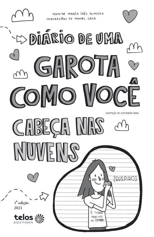 Diário de uma garota como você Cabeça nas nuvens - pág. 3