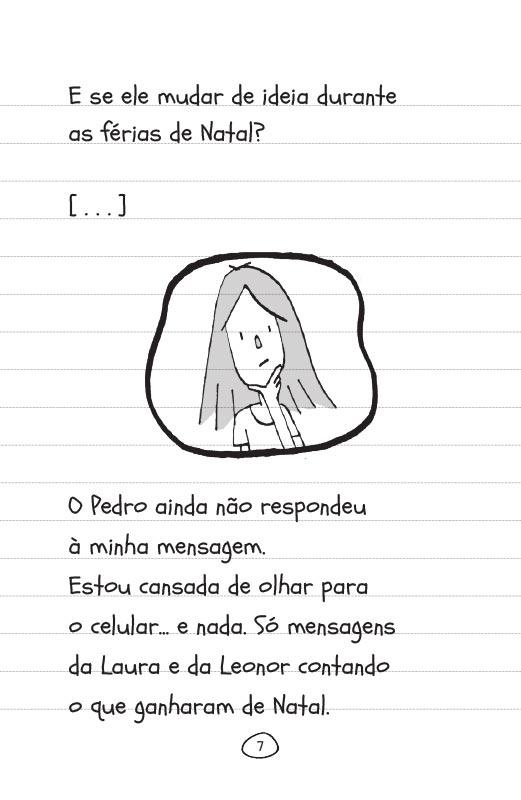 Diário de uma garota como você Cabeça nas nuvens - pág. 7
