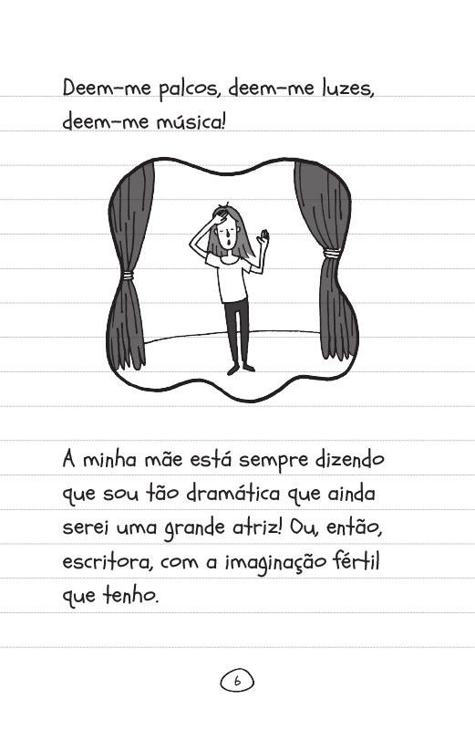 Diário de uma garota como você Sem pés nem cabeça - pág. 6