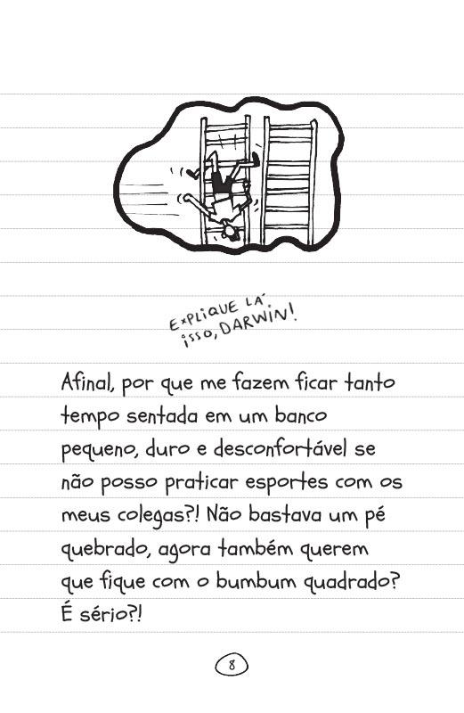 Diário de uma garota como você Tique taque toque - pág. 8