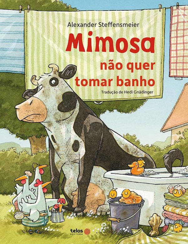 Mimosa não quer tomar banho - capa